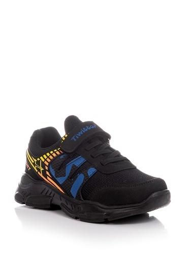 Tonny Black Siyah Sax Çocuk Spor Ayakkabı Tbz14  Siyah